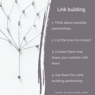 Start your Inbound Marketing strategy: Link Building strategy