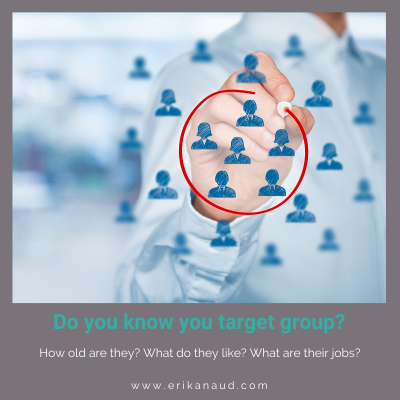 Start your Inbound Marketing strategy : target group