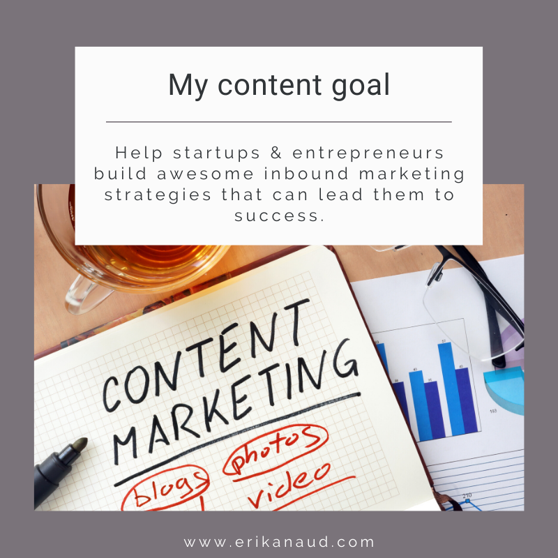 Content goal example - Content strategy - Inbound Marketing strategy