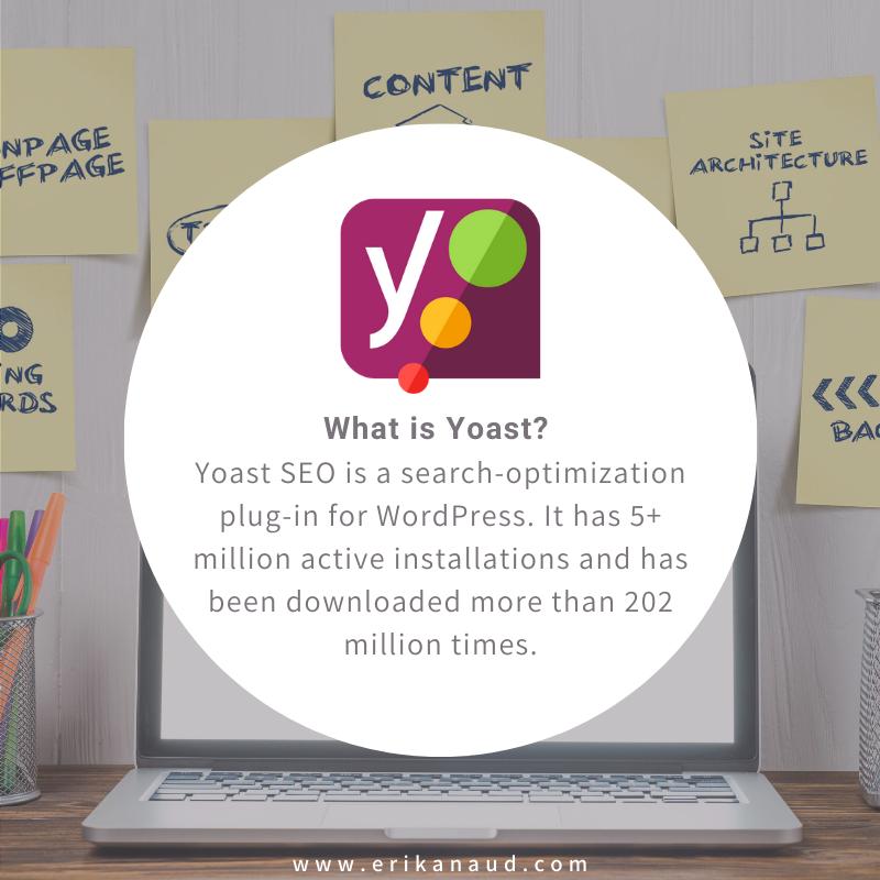 Upload SEO optimized blog posts: What is Yoast?