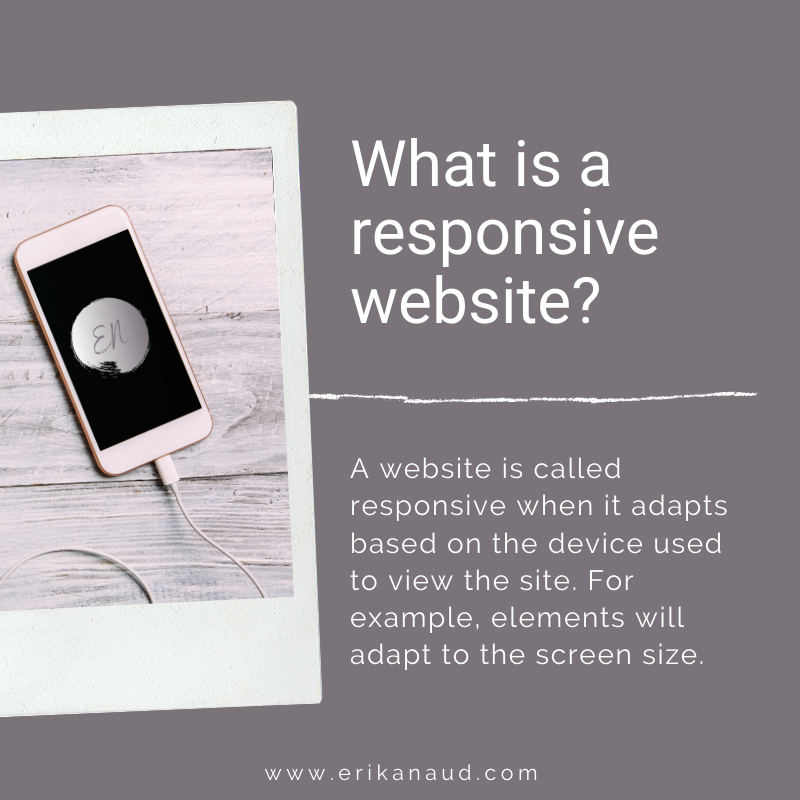 Mobile-friendly website: What is a responsive website?