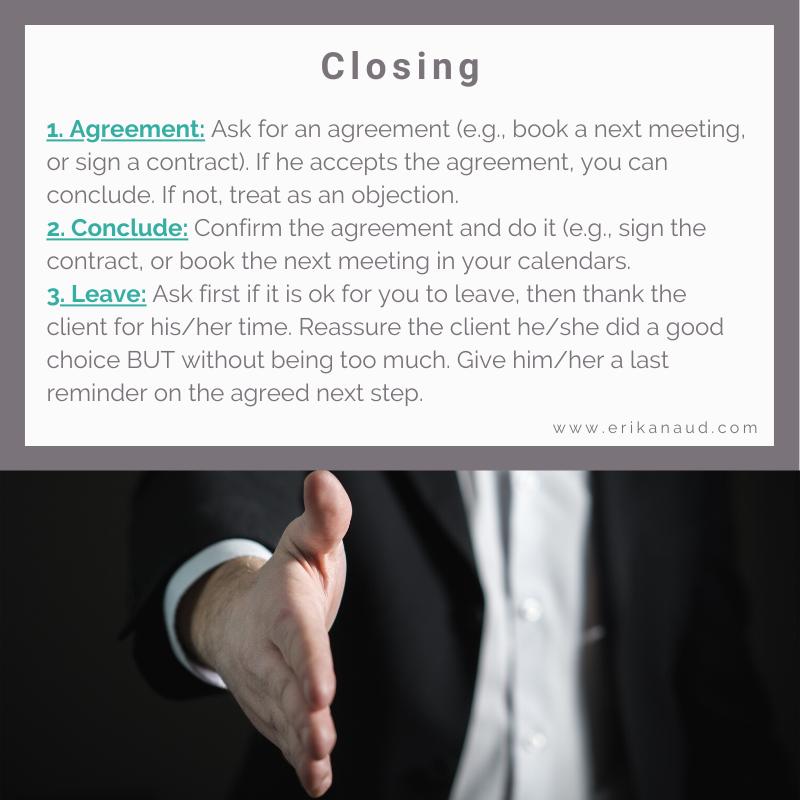 Inbound Sales Pitch: Closing